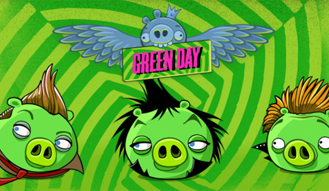 Green Day Angry Birds image
