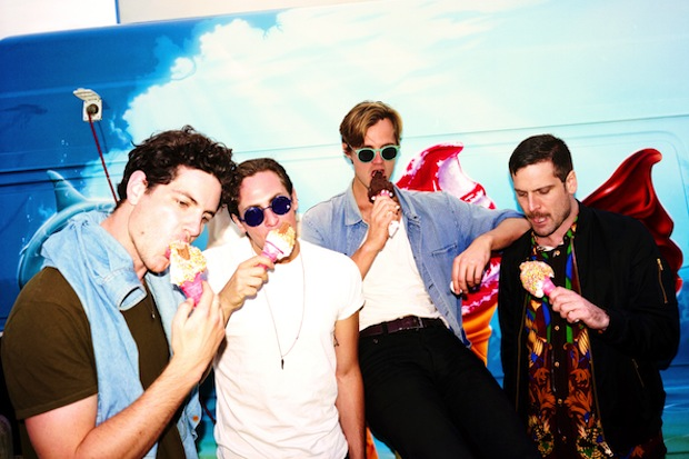 Van She press shot - ice cream