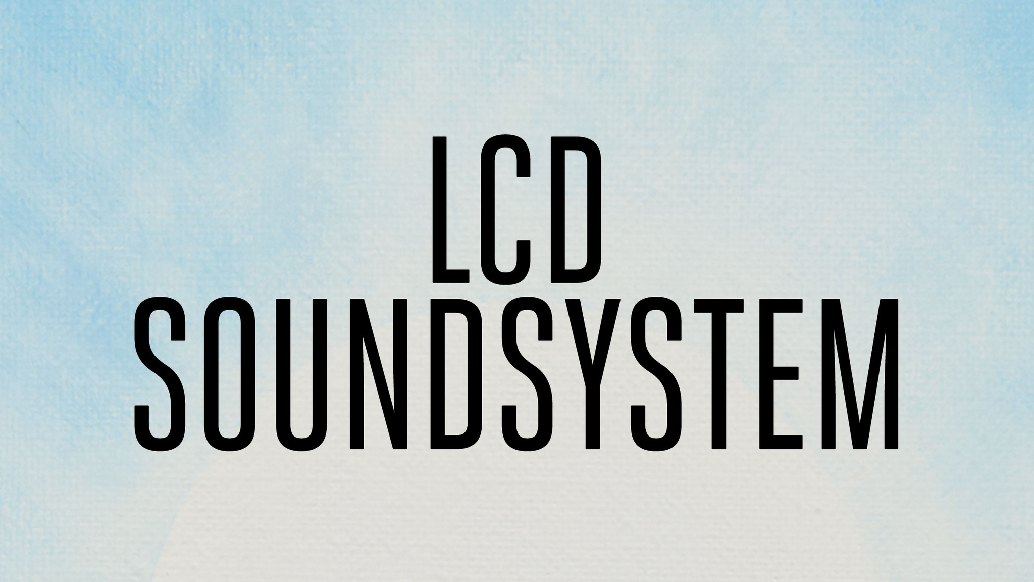 LCD Soundsystem @ Air Canada Centre