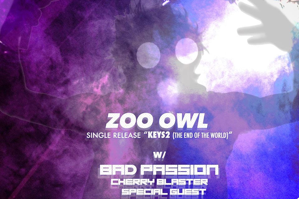 ZOO OWL with Bad Passion / Plazas / Cherry Blaster @ Handlebar