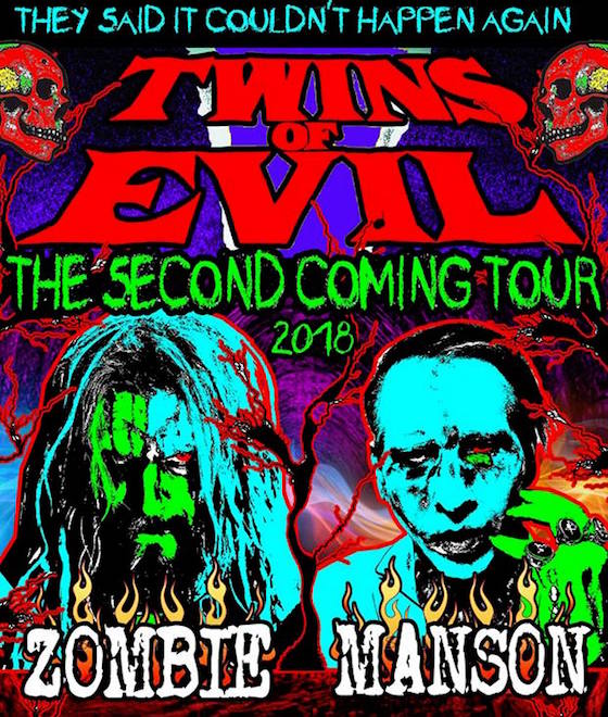 Rob Zombie & Marilyn Manson: Twins Of Evil @ Budweiser Stage
