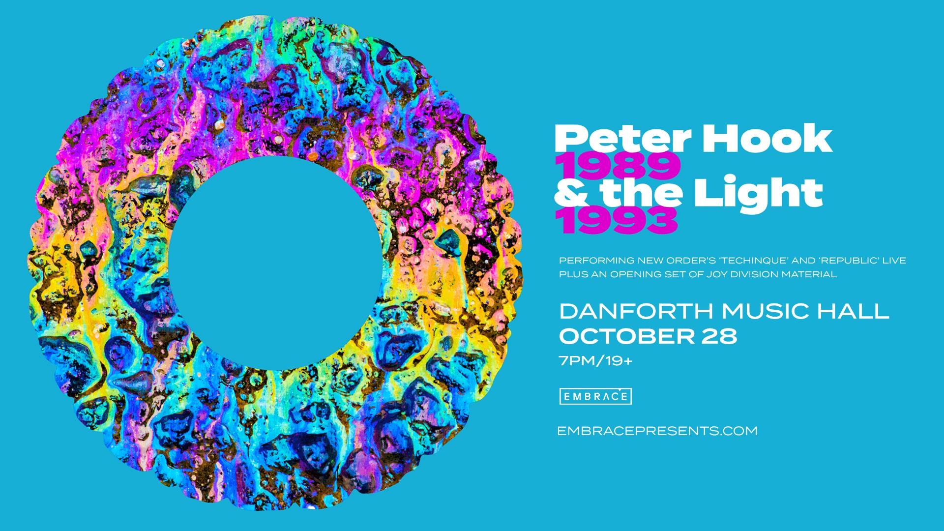 Peter Hook & the Light @ The Danforth Music Hall