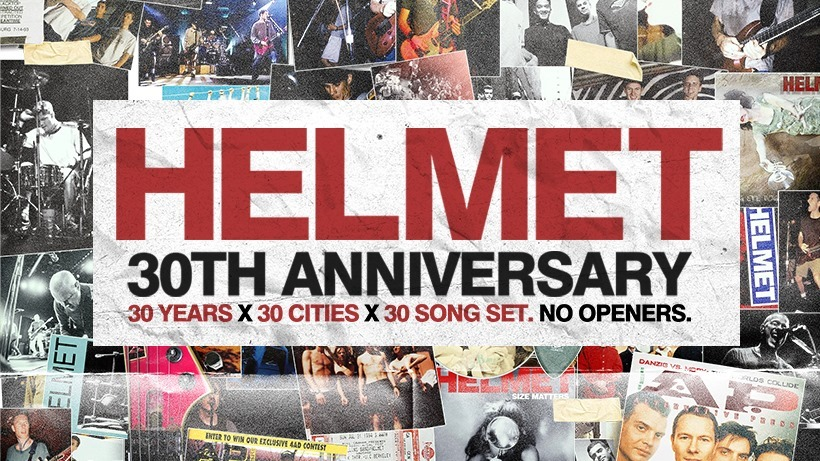 Helmet: 30th Anniversary Tour @ Horseshoe Tavern