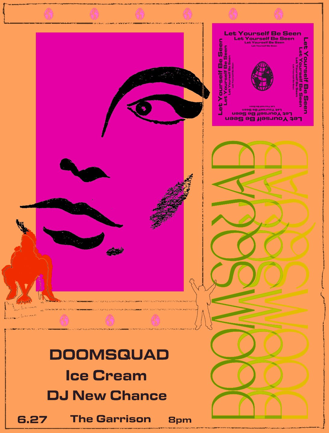 Doomsquad • Ice Cream • DJ New Chance @ The Garrison